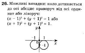 ГДЗ по геометрии 9 класс Апостолова Г.В. Разділ 1. Координатна площина. Тригонометричні функціі кутів від 0 до 180, § 1 Декартова система координат, Завдання 2. Задание: 26