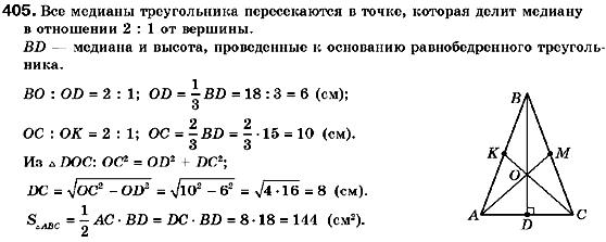 ГДЗ по геометрии 9 класс Мерзляк А.Г., Полонский В.Б., Якир М.С. (для русских школ) 3. Декартовые координаты на плоскости, 11. Угловой коефициент прямой. Задание: 405