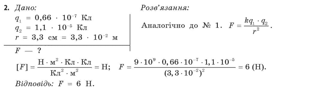 ГДЗ по физике 11 класс Коршак Є.В., Ляшенко О.І., Савченко В.Ф. Розділ 1, Вправа 3. Задание: 2