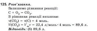 ГДЗ по химии 10 класс Н.М.Буринська, Л.П. Величко § 21. Оксиди Карбону й Силіцію. Задание: 125