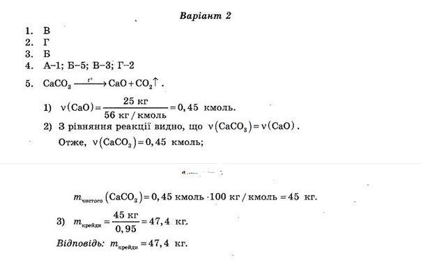 ГДЗ по химии 10 класс Ісаєнко Ю. В., Гога С. Т. Самостоятельные работы. Задание: №6. Вариант 2