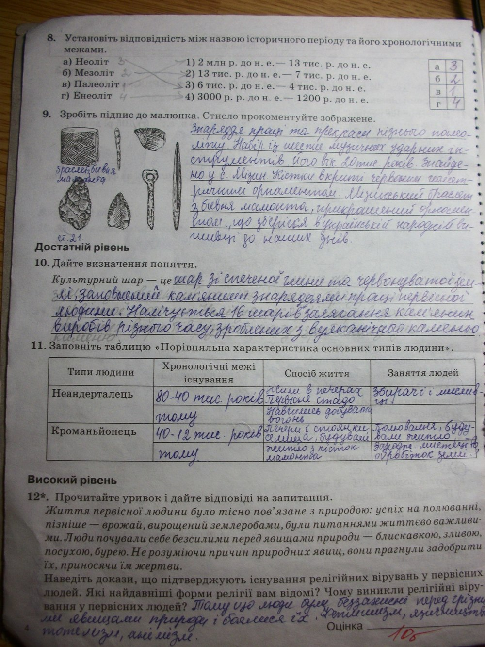 ГДЗ рабочие тетради 6 класс. Задание: стр. 4