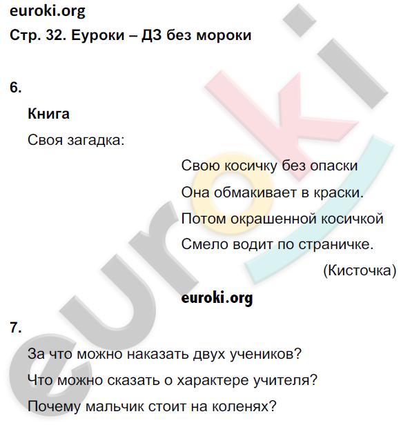 ГДЗ по обществознанию 5 класс рабочая тетрадь Иванова, Хотеенкова. Задание: стр. 32