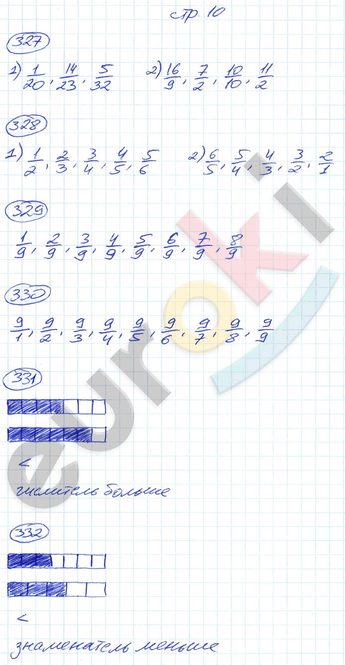 ГДЗ по математике 5 класс рабочая тетрадь Мерзляк, Полонский, Якир Часть 1, 2. Задание: стр. 10
