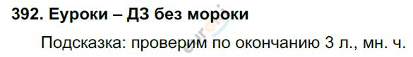 ГДЗ по русскому языку 4 класс Соловейчик, Кузьменко Часть 1, 2 Часть 2. Задание: 392
