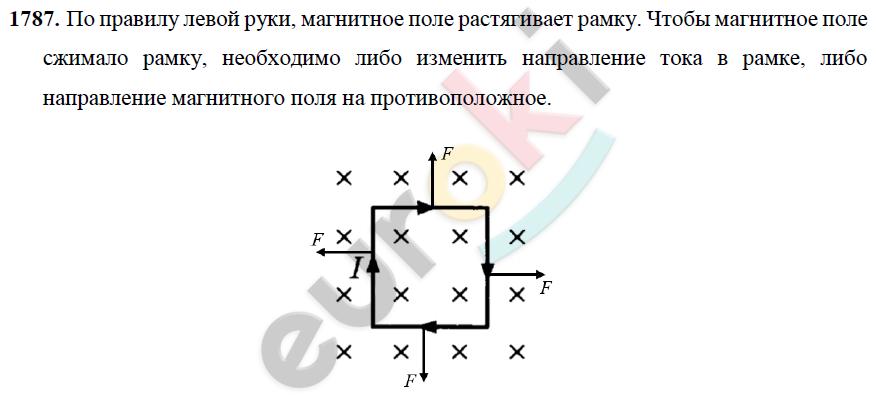 ГДЗ по физике 9 класс Перышкин (сборник задач). Задание: 1787