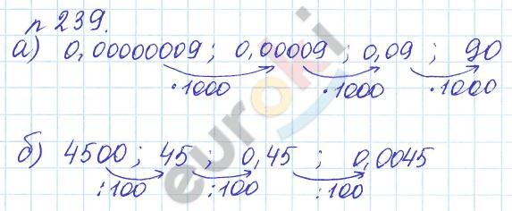 ГДЗ по математике 6 класс задачник Бунимович, Кузнецова. Задание: 239