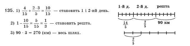 ГДЗ по алгебре 8 класс Мерзляк А., Полонський В., Якiр М.. Задание: 135